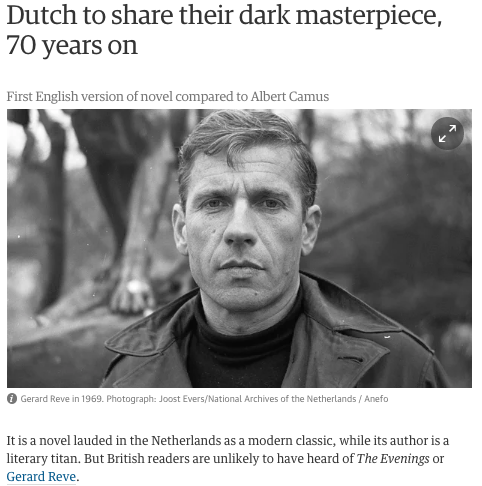 Dutch to share their dark masterpiece, 70 years on